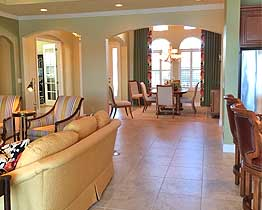 Venice, FL, The Venetian, Private Residence, Great Room